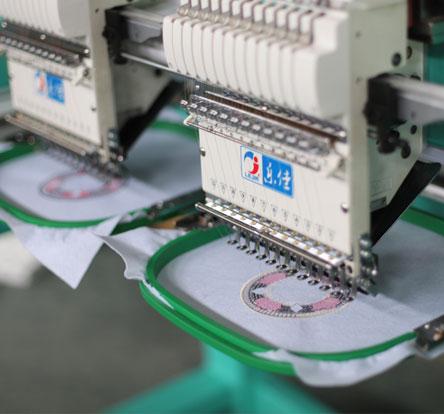 LJ-1202 2 heads Cap embroidery machine